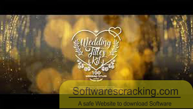 VideoHive Wedding Titles Kit 100 Titles for After Effects