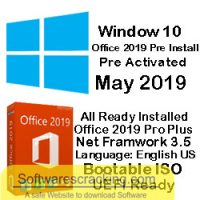 Windows 10 Pro with Office 2019 May 2020 Free Download free download latest version