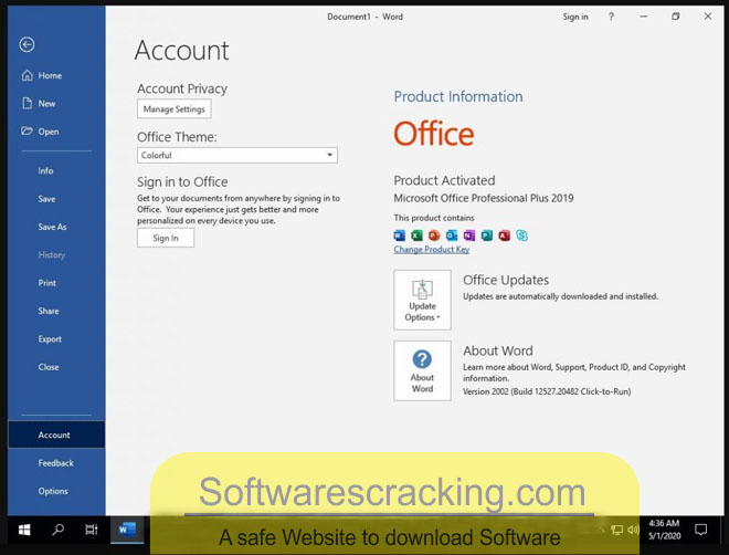 window 10 pro with office 2019 may 2020 download latest version